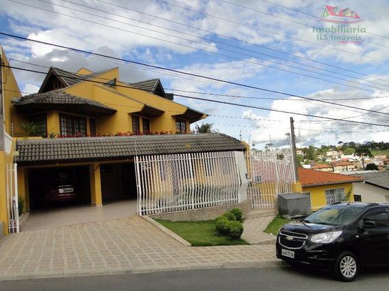 Casa Residencial À Venda, Tingui, Curitiba - Ca0193. - Ca0193