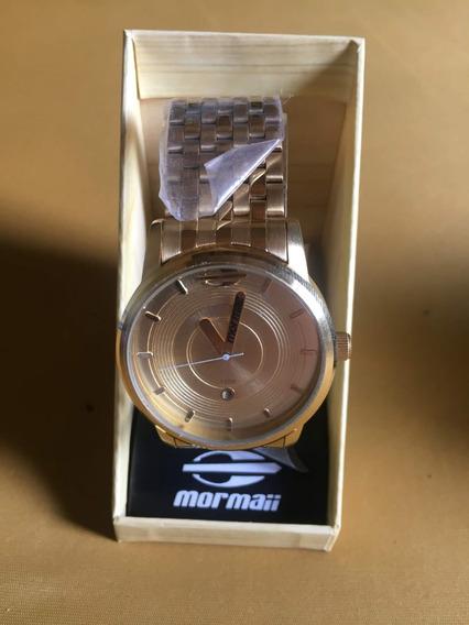 Relógio Mormaii Masculino Dourado