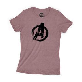 Playera Grapics Avengers Logo Marvel Comics Heroes Endgame