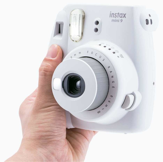 Camera Polaroid Instax Mini 9 Branco Gelo