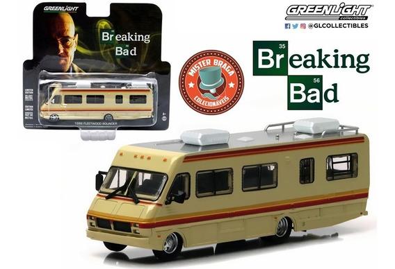 Trailer Fleetwood Bounder 1986 Breaking Bad Greenlight 1/64