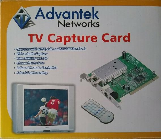 Advantek Capturadora Tv Fm Audio Y Video
