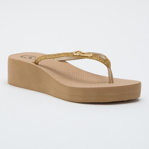 Anabela Confort Dourada - R8008036066