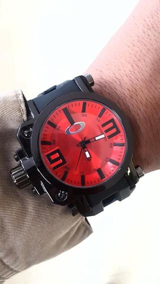 Relógio Masculino Oakley Titanium+caixa Acrílico. Barato