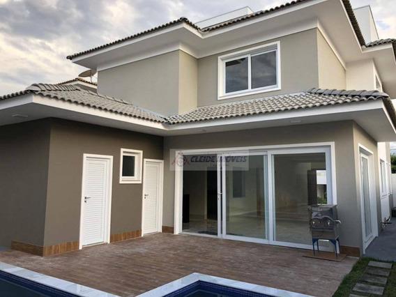 Casa Com 3 Dormitórios À Venda, 265 M² Por R$ 1.300.000,00 - Condomínio Belvedere - Cuiabá/mt - Ca0900
