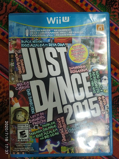 Just Dance 2015 - Nintendo Wii U Completo Ntsc