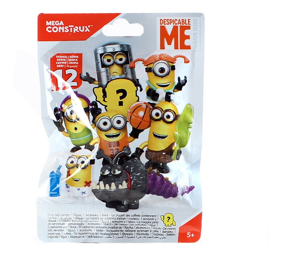 Mega Bloks Mini Figura Sorpresa Mi Villano Favorito