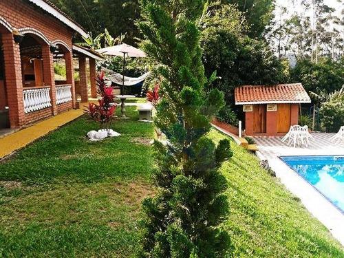 Chácara Com 3 Dormitórios À Venda, 7000 M² Por R$ 500.000,00 - Centro - Vargem/sp - Ch0037