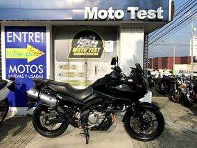 Suzuki Vstrom 650 Negra Modelo 2007 85.000 Km
