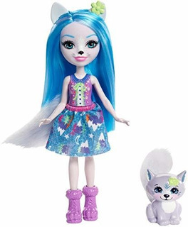Enchantimals Winsley Wolf Doll Y Trooper Figura