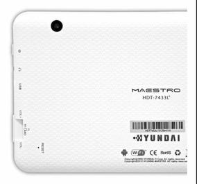 Tablet Hyundai Branco 8gb - Wi Fi - Android - Quad Core