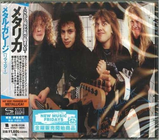 Metallica $5.98 Ep Garage Days Re-revisited Japan Shm Cd