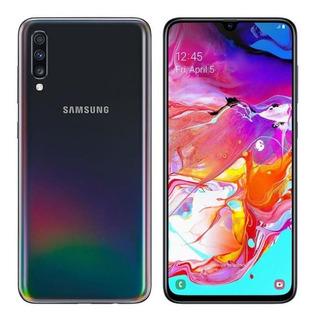 Teléfono Samsung Galaxy A70 Lte 6gbx128gb Negro Tienda F.