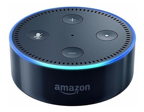 Imagen 1 de 3 de Amazon Echo Dot 2nd Gen con asistente virtual Alexa black 110V/240V