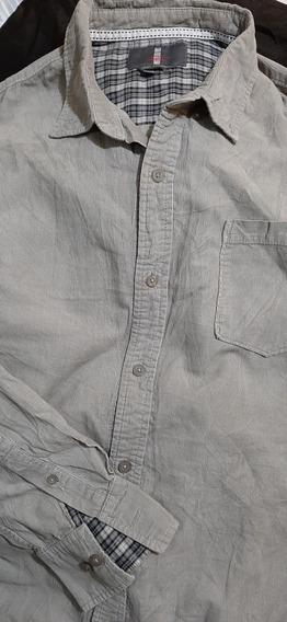 Camisa Jeans By Buffalo Manga Larga#38