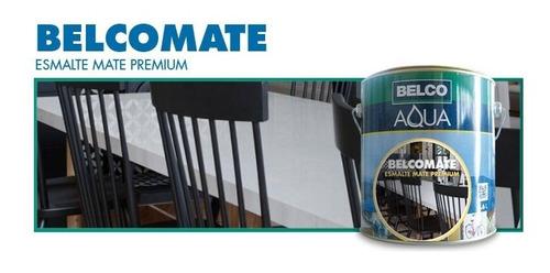 Esmalte Sintetico Mate Belcomate Premium  Belco 3.6l