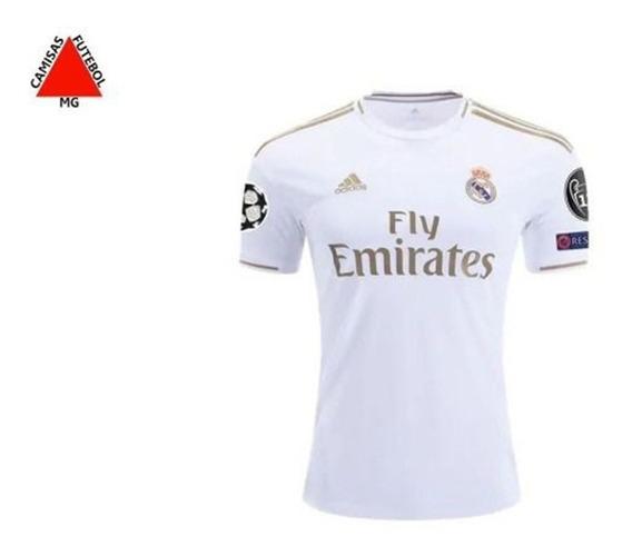 Camisa Real Madrid Jogador 2019/2020 - Pronta Entrega