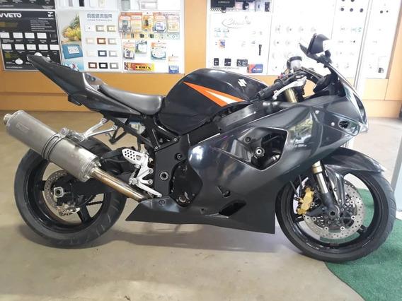 Moto Suzuki 600cc Gsx-r Negra 2004