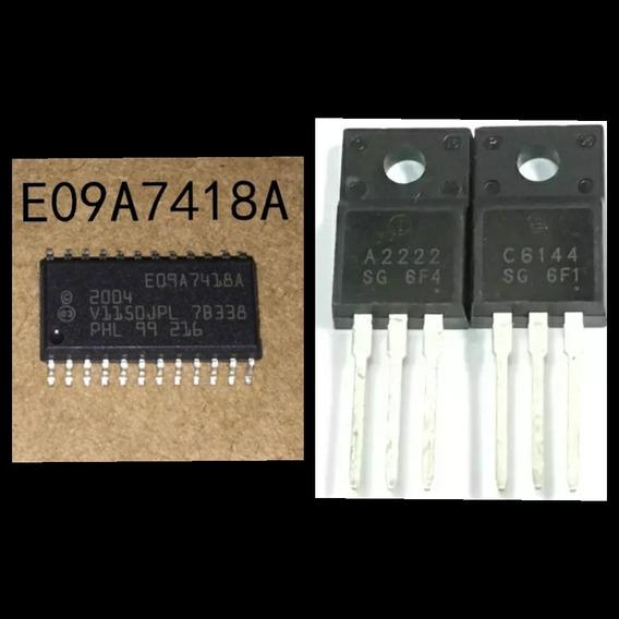 Ci E09a7418a + 1 Par De Transistor A2222 E C6144