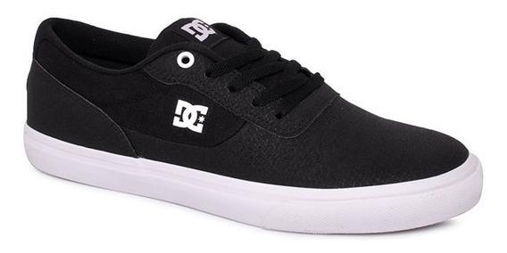 Tênis Dc Shoes Switch Le La 10780 Preto/branco Original