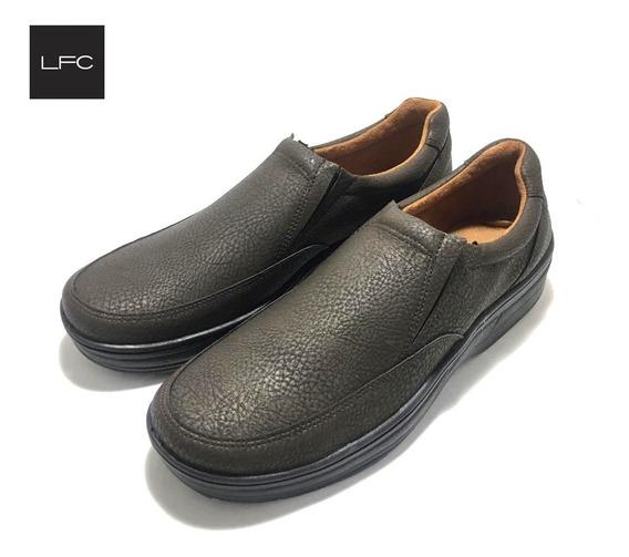 Zapatos De Hombre Confort Con Elastico (12/elas)
