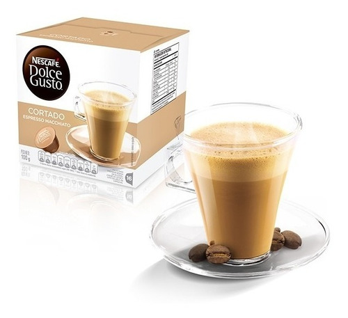 Cápsulas Dolce Gusto Nescafé - Café Cortado