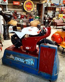 Brinquedo Cafe Racer De Park Antigo Pedal Car
