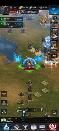 Imagem 1 de 5 de Base Level 30 - 140m De Poder - Jogo Last Empire War Z