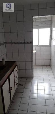 Apartamento Com 3 Dormitórios À Venda, 63 M² Por R$ 220.000 - Vila Camilópolis - Santo André/sp - Ap8664