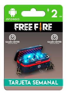 Tarjeta Semanal Free Fire 420 Diamantes Mejor