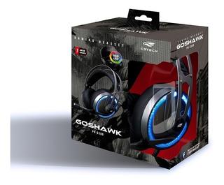Headset Gamer C3tech Goshawk Ph-g300 Com Garantia