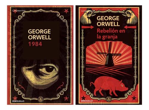 Imagen 1 de 5 de 1984 + Rebelion En La Granja - Orwell - 2 Libros Bolsillo