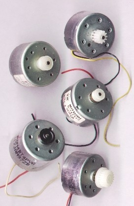 Motores Electricos Corriente Continua (cinco Unidades)