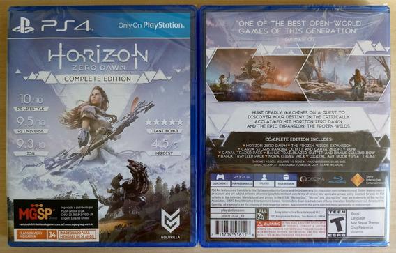 Horizon Zero Dawn: Complete Edition - Ps4 | American Version