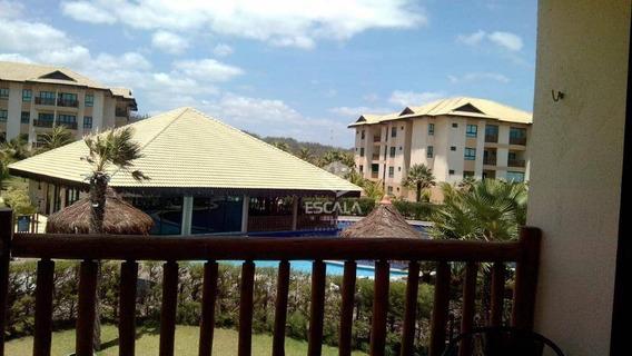 Apartamento Com 1 Dormitório Para Alugar, 39 M² Por R$ 250,00/dia - Cumbuco - Caucaia/ce - Ap1751