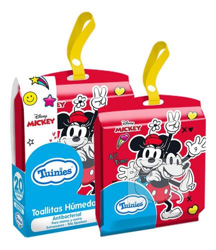 Toallitas Humedas Antibacteriales X20u-mickey Y Minnie