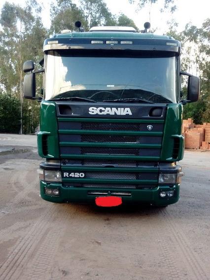 Scania G-420 6x2 Único Dono 2007/7 Zerada