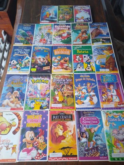 Fitas Cassete Antigas - Coleção Walt Disney - Aproveitem.