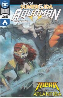 Comic Dc Universe Rebirth Aquaman # 25 Español Nuevo