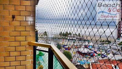 Vista Ao Mar, 2 Dorms, Ocian, Praia Grande, R$ 230 Mil, Ap00587 - Vap00587