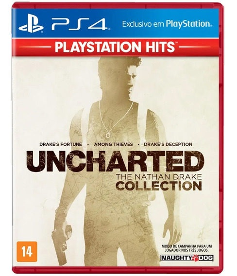 Uncharted The Nathan Drake Collection Ps4 Original Físico