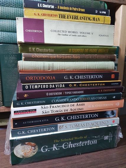 Lote 14 Livros De G.k. Chesterton