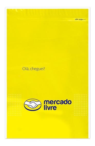 100 Envelopes Plásticos Segurança Com Bolha - Ml M 30x41 Cm