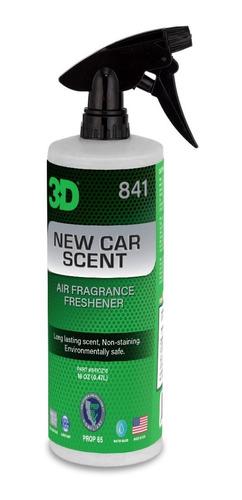 Imagen 1 de 2 de Perfume 3d Air Fresheners  Auto Nuevo 1/2lts 3d