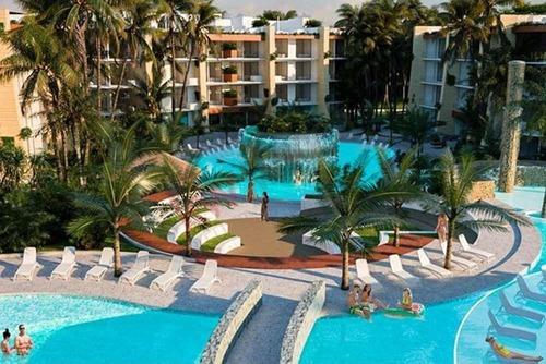 Se Vende Departamento En Puerto Morelos En La Riviera Maya En Condo Hotel A 15 Minutos De Cancún, Quintana Roo