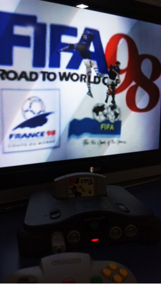 Fifa Road To World Cup 98 Jogo Cartucho Nintendo 64 N64