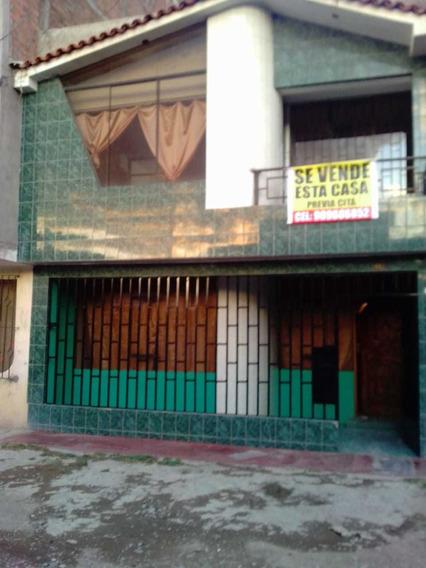 Casa De Material Noble De Dos Pisos En Ocacion