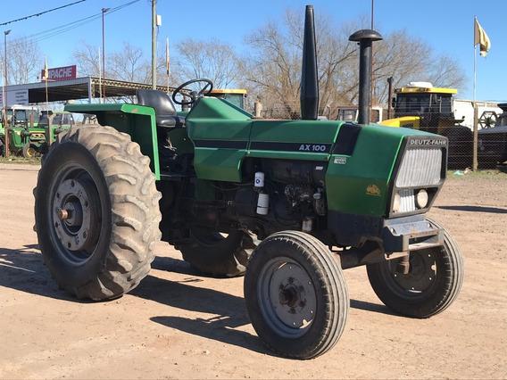 Tractor Deutz Ax 100 Con Tres Puntos Y Doble Embrague