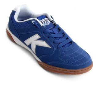 Tênis Futsal Kelme Precision Lnfs Adulto Azul - Frete Grátis