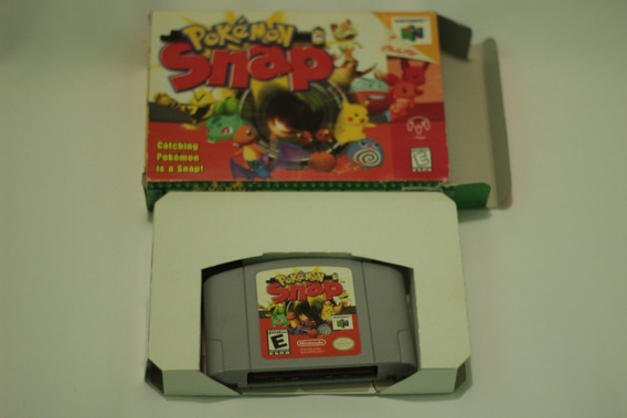 Pokemon Snap Original Com Caixa Sem Manual Nintendo 64 N64